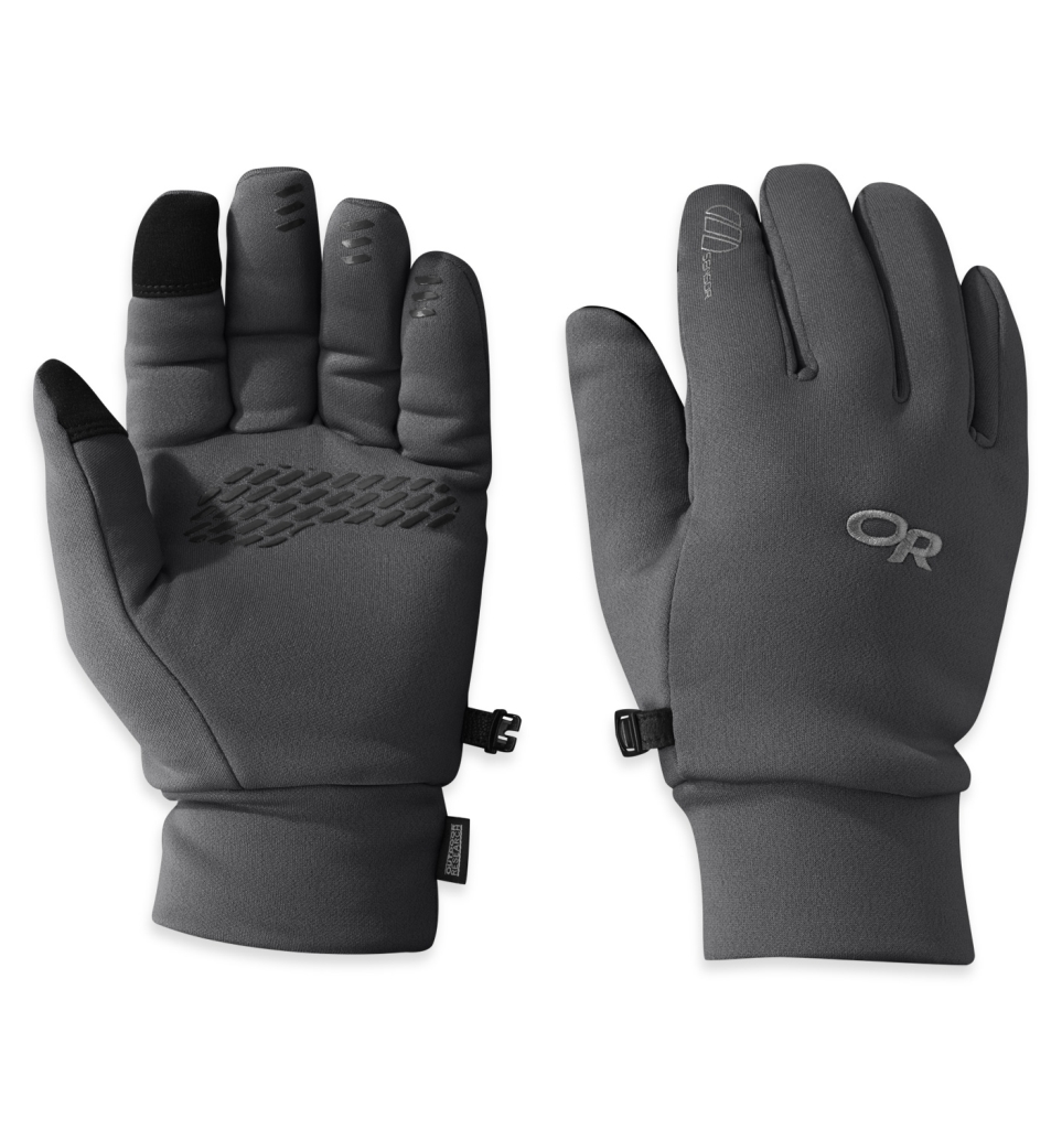 Outdoor Research Men's PL 400 Sensor Gloves Charcoal Heather-30