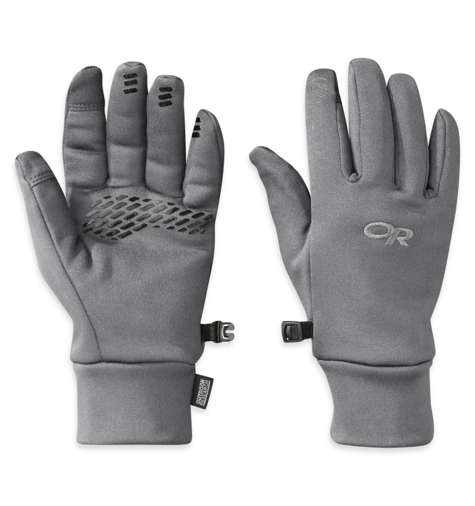 Outdoor Research Women's PL 400 Sensor Gloves Charcoal Heather-30