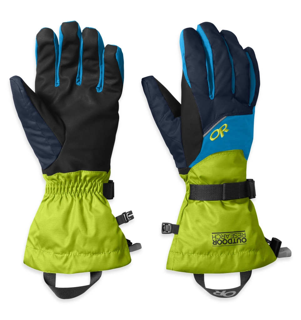 Outdoor Research Men's Adrenaline Gloves Night/Lemongrass/Hydro-30