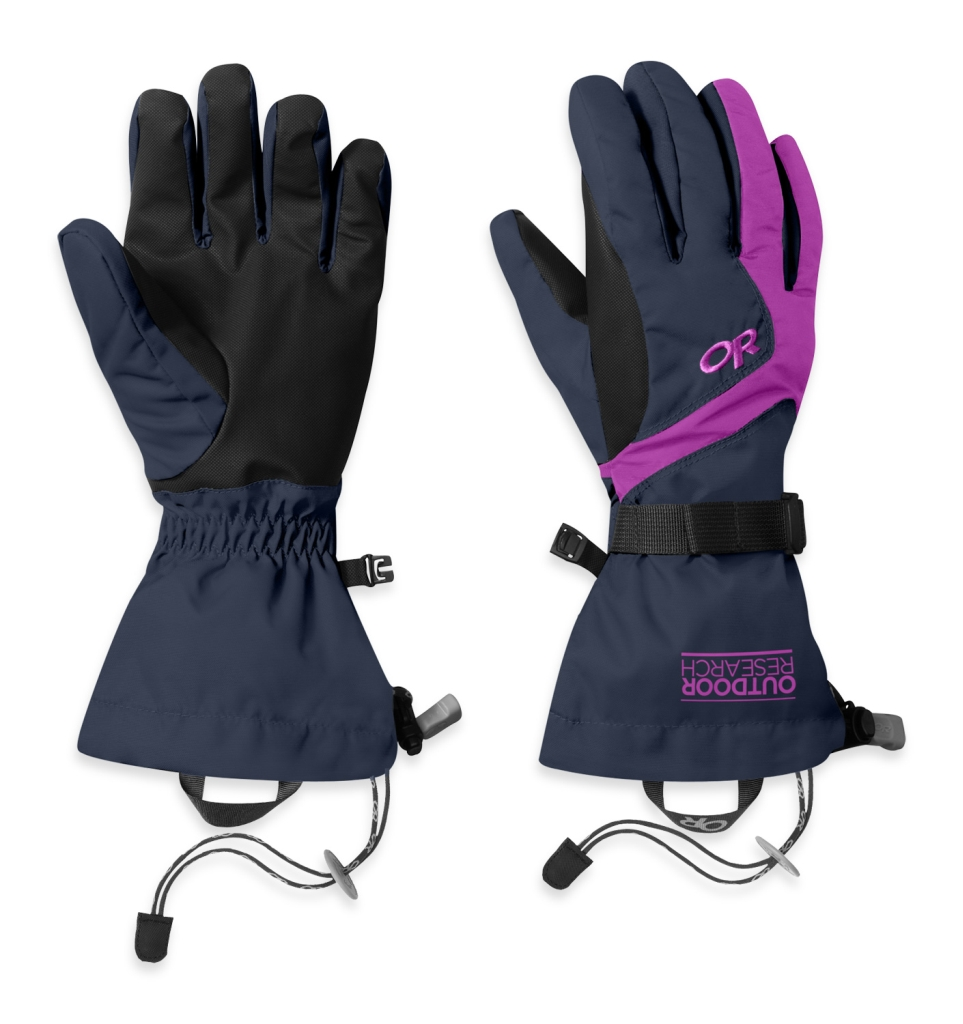 Outdoor Research Women's Adrenaline Gloves Night/Ultraviolet-30