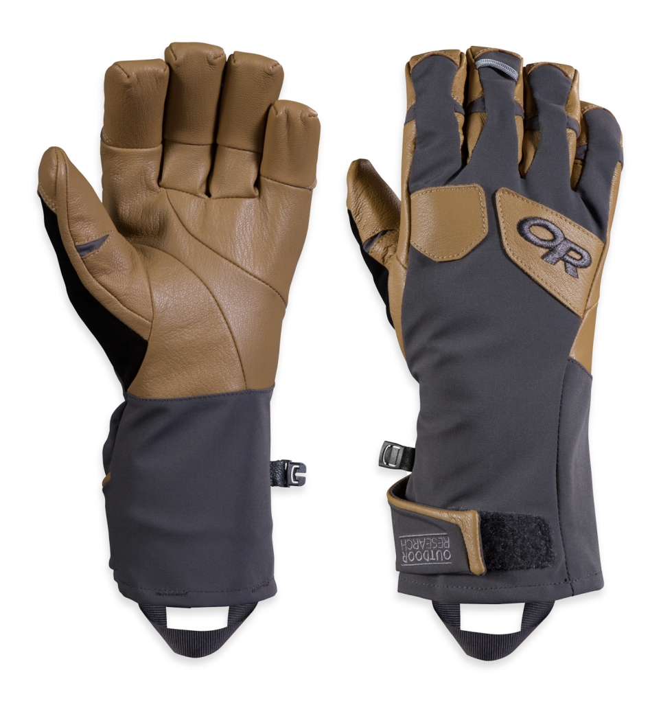 Outdoor Research Men's Extravert Gloves Charcoal/Natura-30