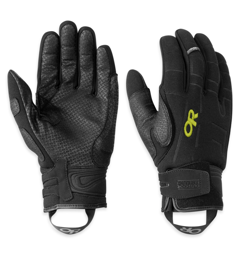Outdoor Research Alibi II Gloves Black/Lemongrass-30