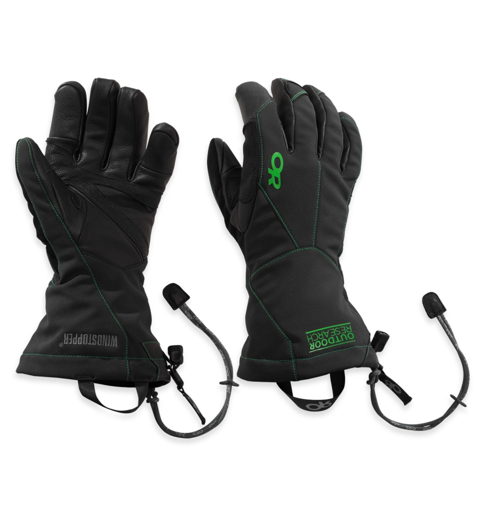 Outdoor Research Men's Luminary Sensor Gloves Black/Flash-30