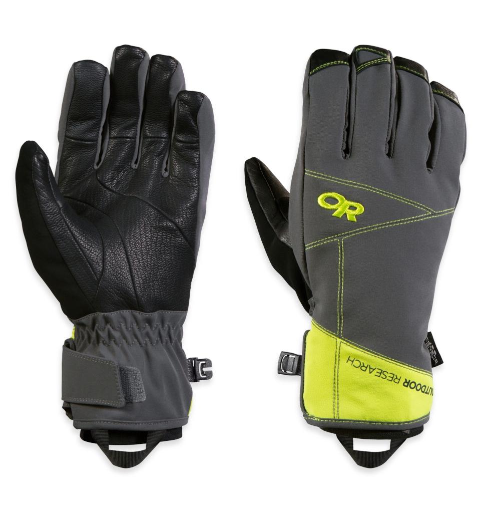 Outdoor Research Illuminator Sensor Gloves Charcoal/Lemongrass-30