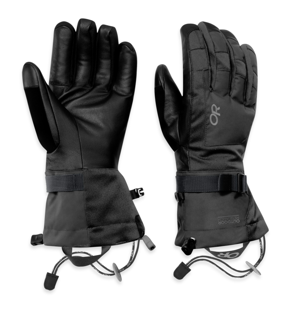 Outdoor Research Men's Revolution Gloves Charcoal/Natura-30