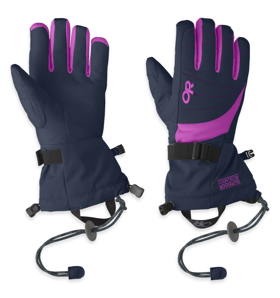 Outdoor Research Women's Revolution Gloves Night/Ultraviolet-30