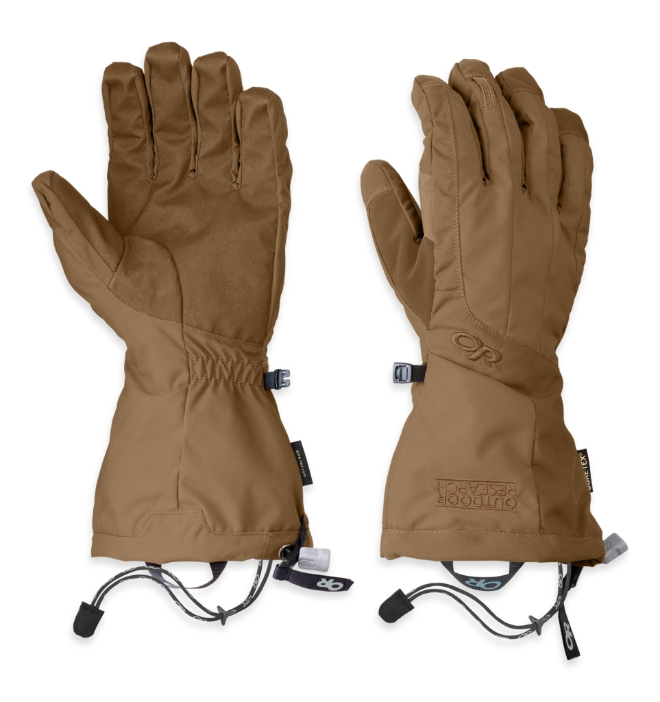Outdoor Research Men's Arete Gloves Coyote-30