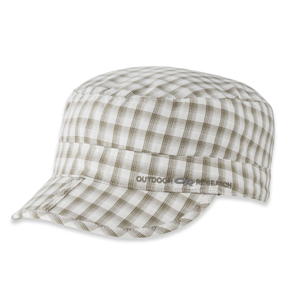 Outdoor Research Radar Pocket Cap walnut plaid-30