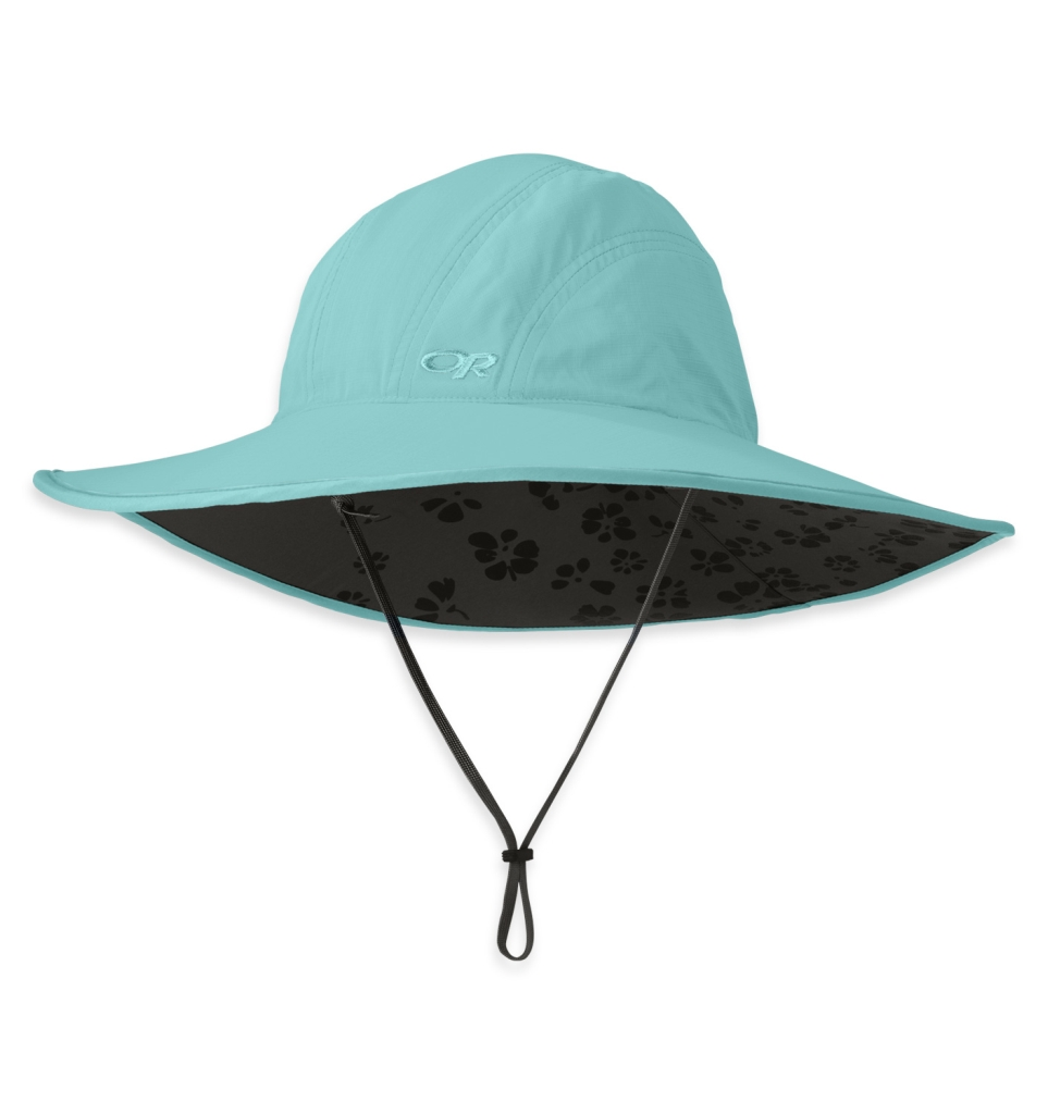 Outdoor Research Women's Oasis Sun Sombrero olivine-30