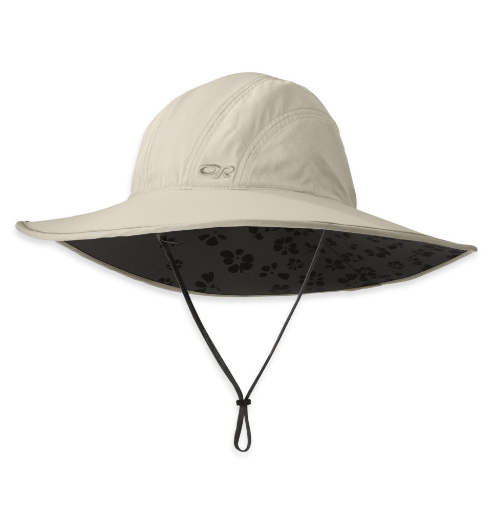 Outdoor Research Women's Oasis Sun Sombrero sand/dark grey-30