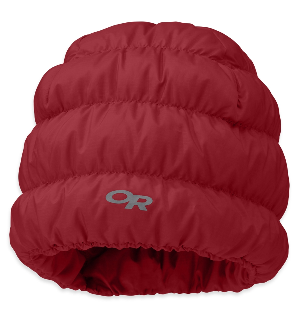 Outdoor Research Transcendent Down Beanie Redwood-30