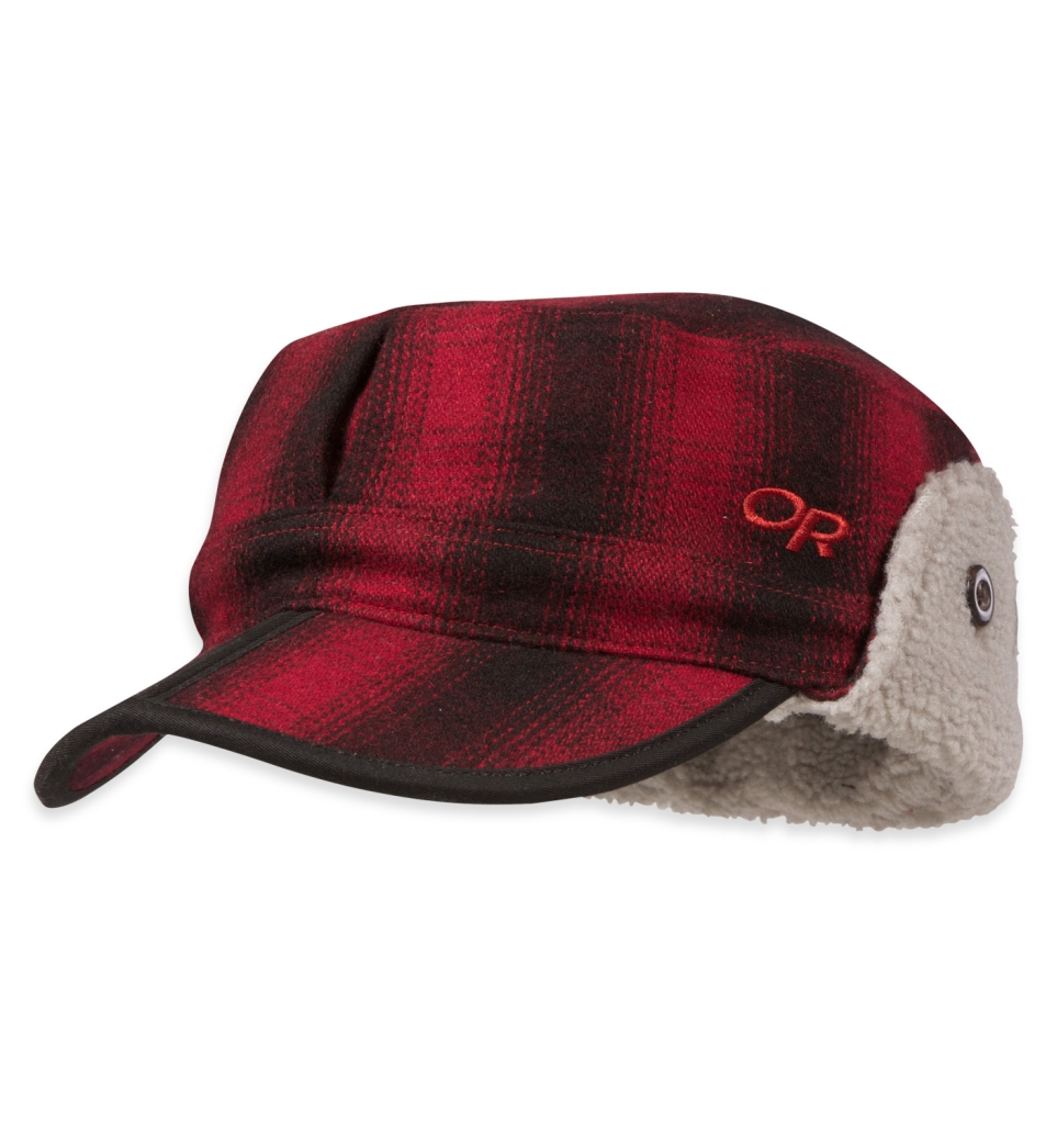 Outdoor Research Yukon Cap Redwood/Black-30