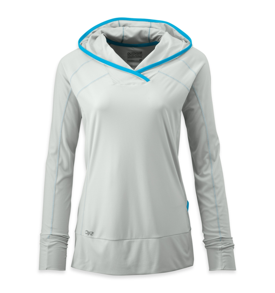 Outdoor Research Women's Echo Hoody alloy/hydro-30