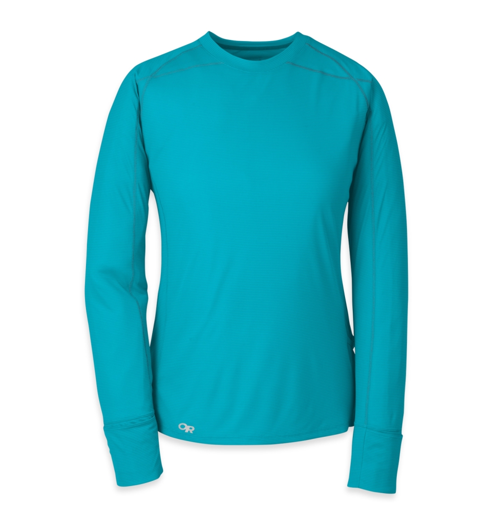 Outdoor Research Women's Echo L/S Tee typhoon/night-30
