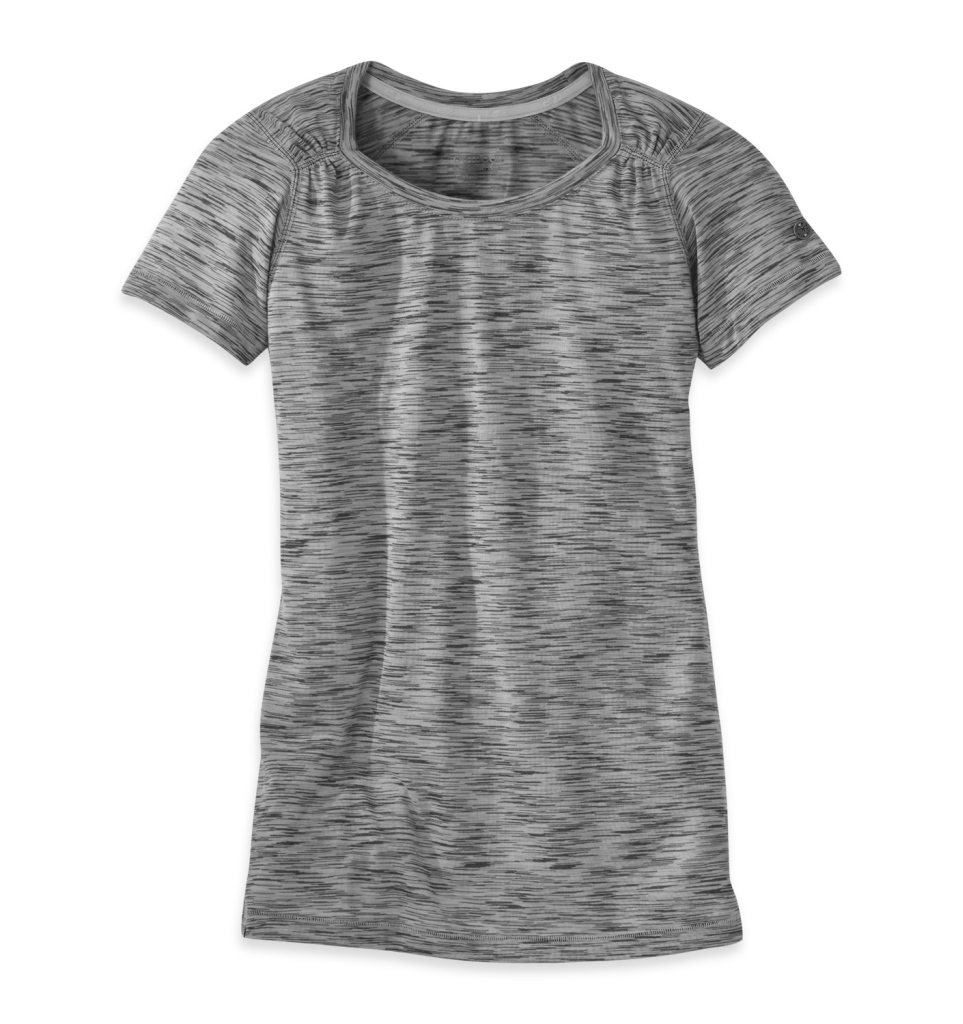 Outdoor Research Women's Flyway S/S Shirt pewter/alloy-30