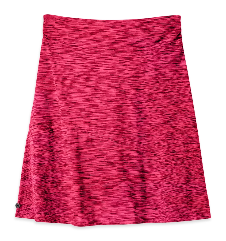 Outdoor Research Women's Flyway Skirt scarlet/desert sunrise-30
