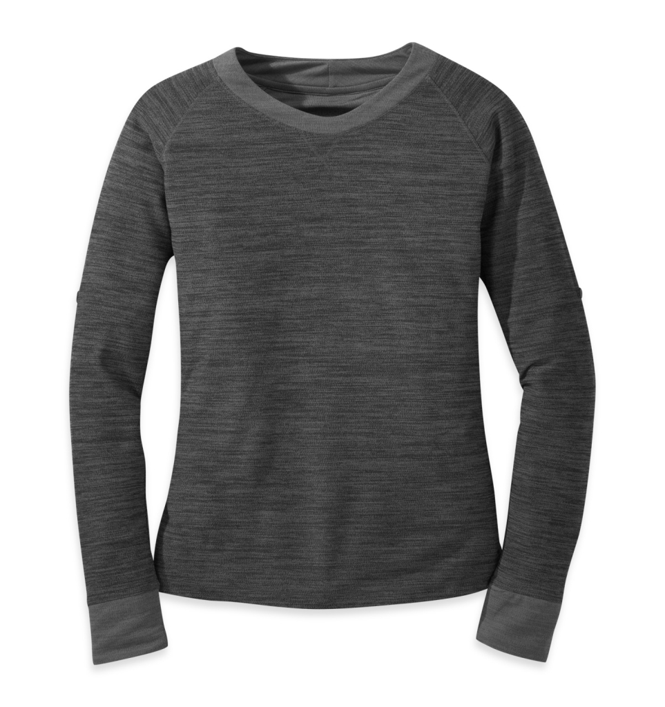 Outdoor Research Women's Zenga L/S Shirt Charcoal-30