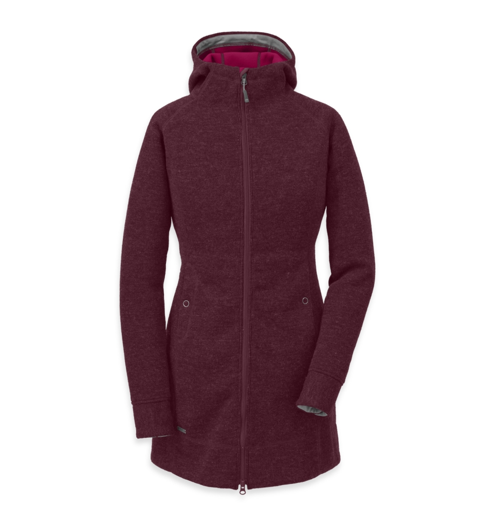 Outdoor Research Women's Salida Long Hoody Pinot-30