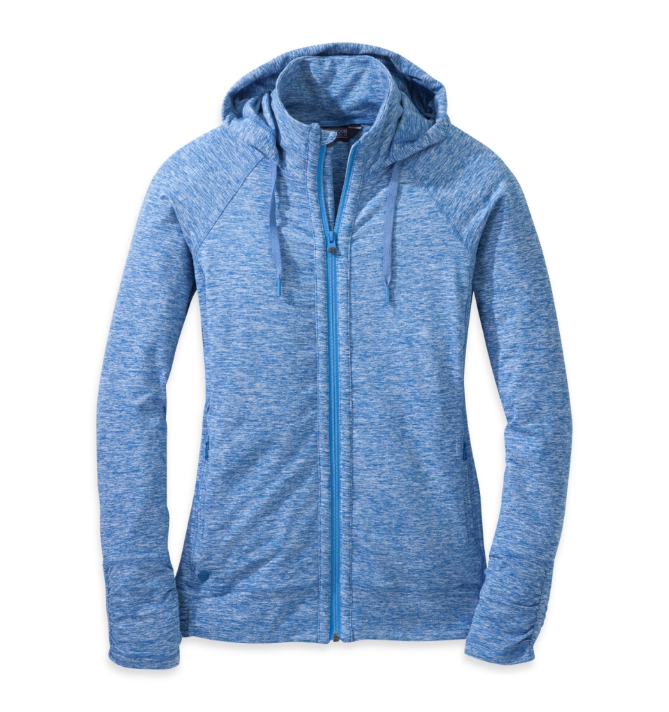 Outdoor Research Women's Melody Hoody Cornflower-30