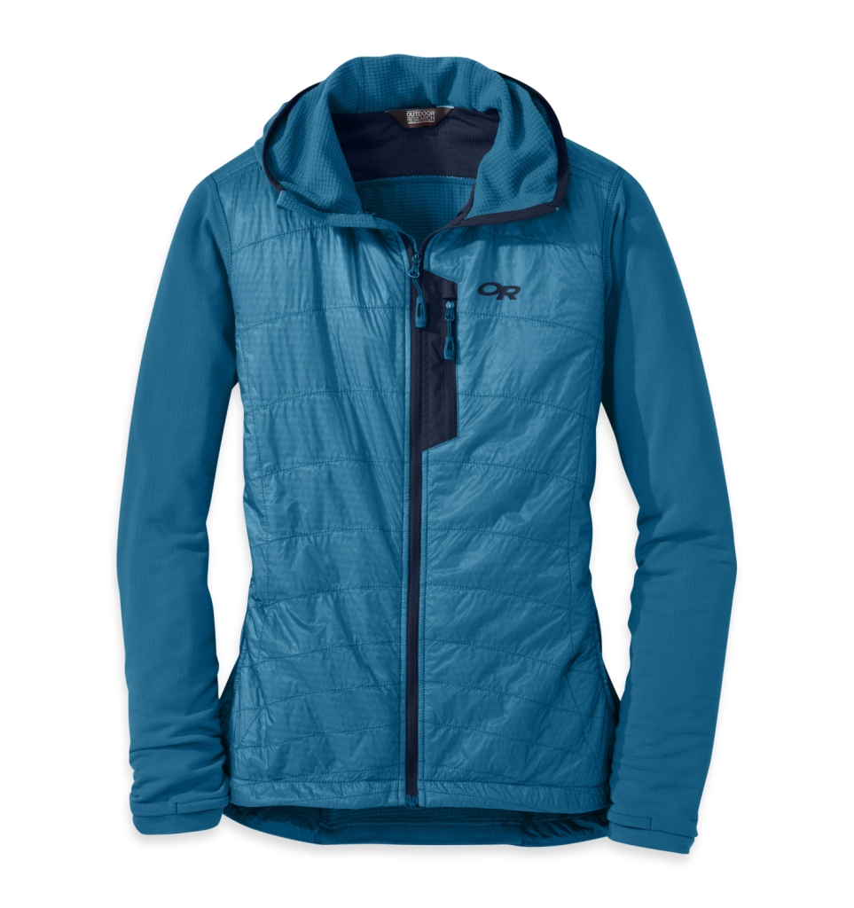 Outdoor Research Women's DeviatHoody cornflower-30