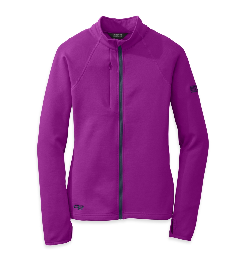 Outdoor Research Women's Radiant Hybrid Jacket Ultraviolet/Night-30