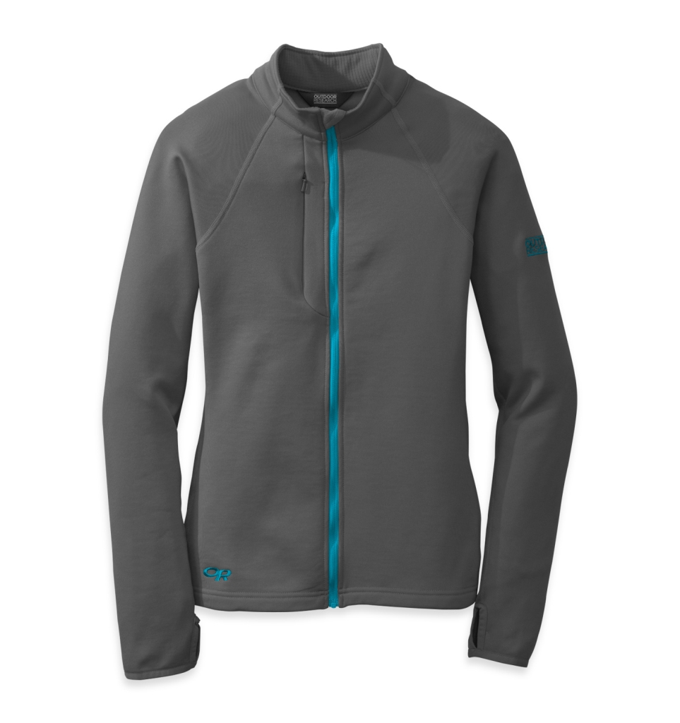 Outdoor Research Women's Radiant Hybrid Jacket Charcoal/Rio-30