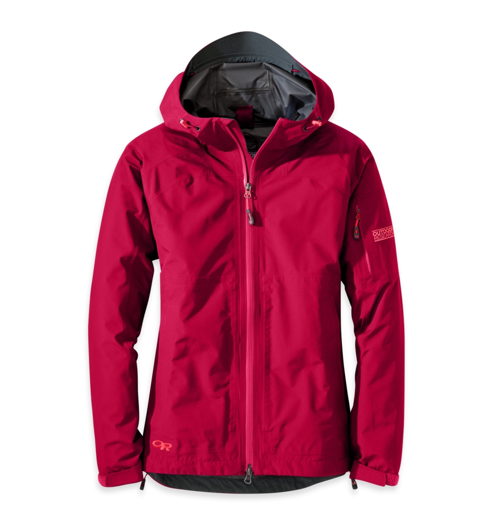 Outdoor Research Women's Aspire Jacket scarlet-30