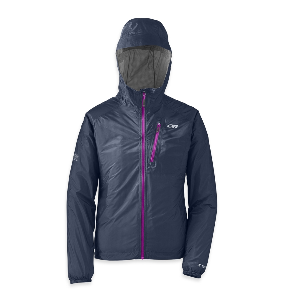 Outdoor Research Women's Helium II Jacket night/ultraviolet-30