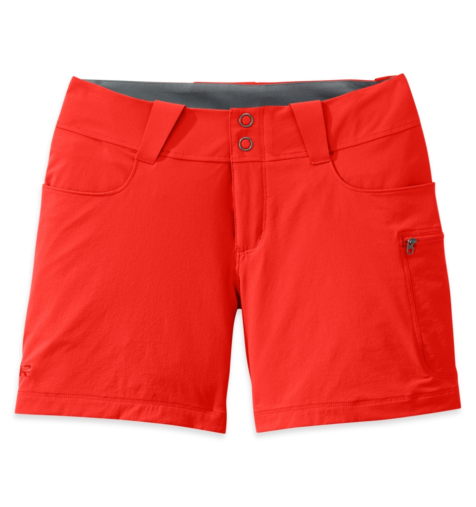 Outdoor Research Women's Ferrosi Summit 5(inch) Shorts paprika-30