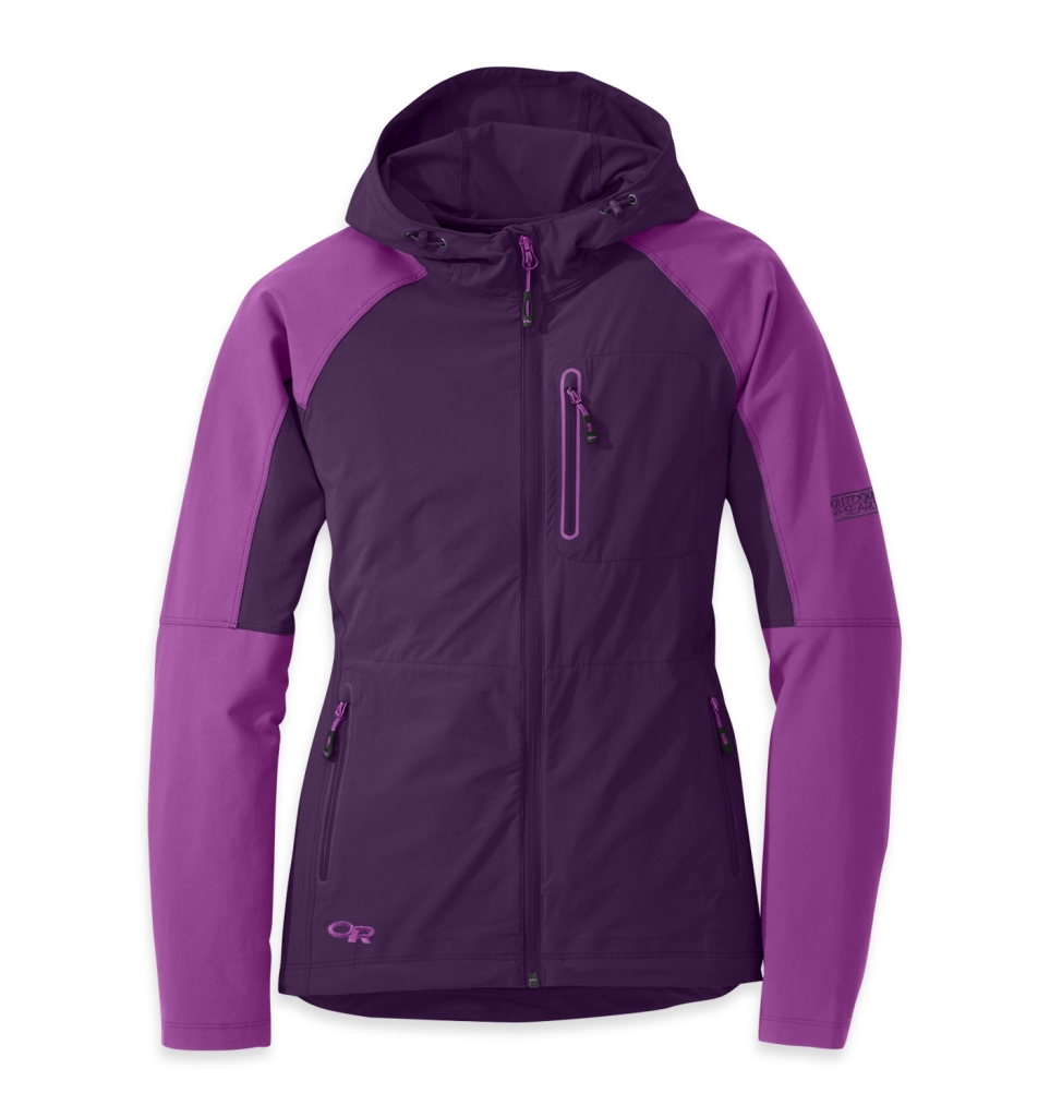 Outdoor Research Women's Ferrosi Hoody elderberry/wisteria-30