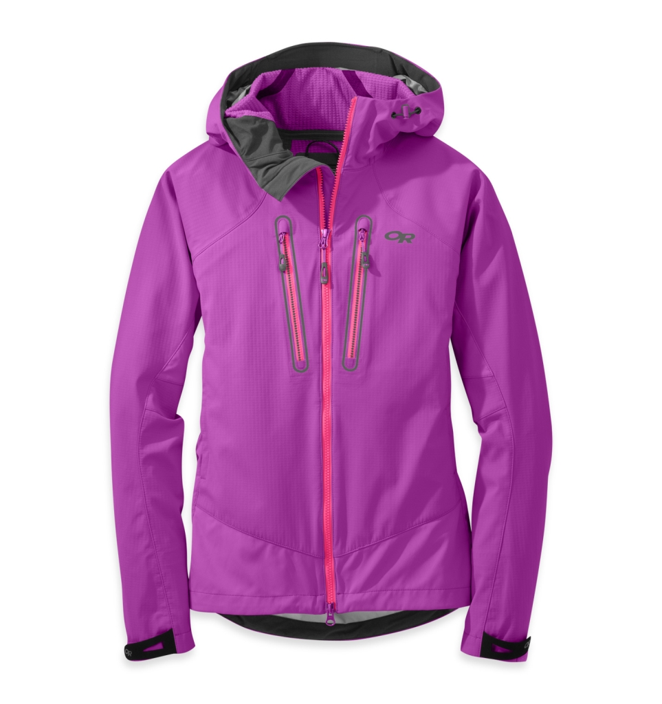 Outdoor Research Women's Iceline Jacket Ultraviolet/Night-30