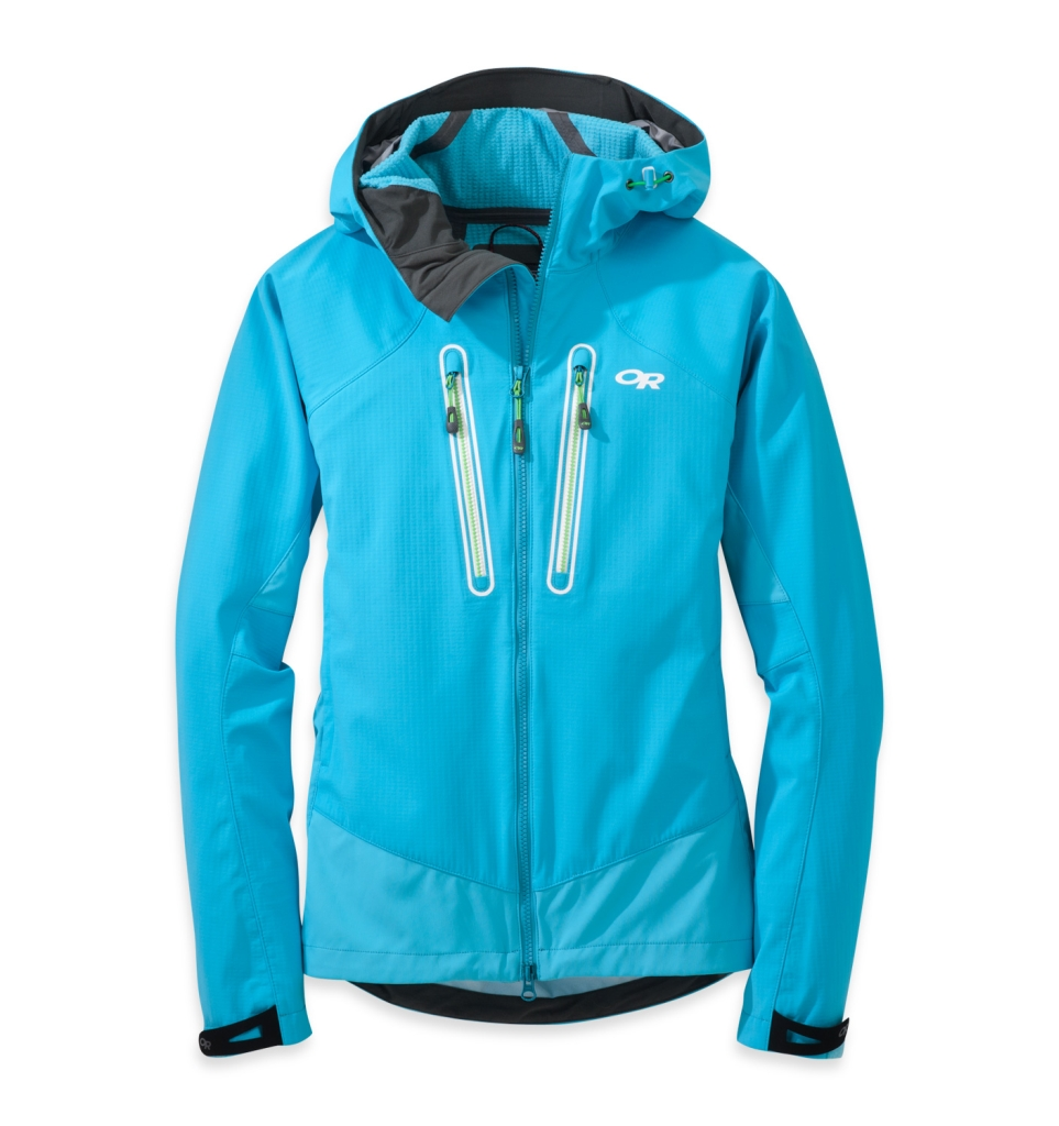 Outdoor Research Women's Iceline Jacket Rio/Apple-30