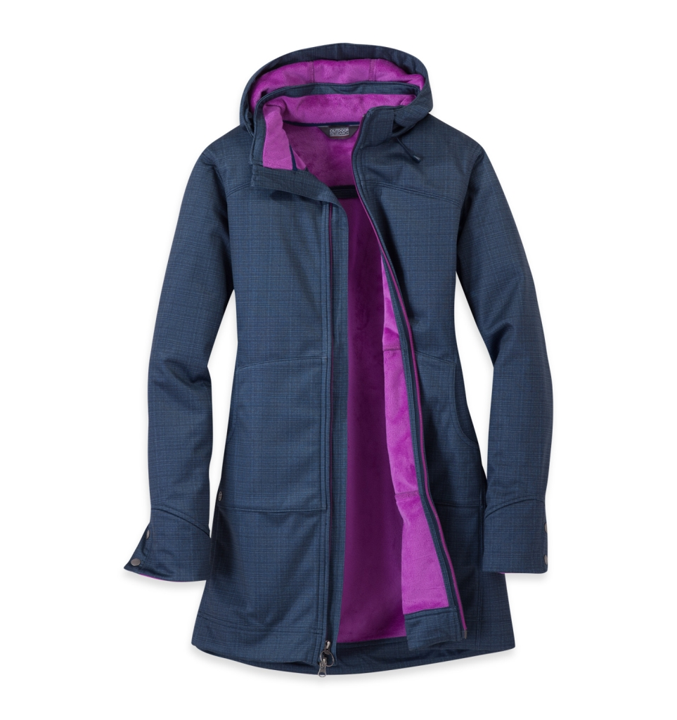 Outdoor Research Women's Serena Hoody Night/Ultraviolet-30