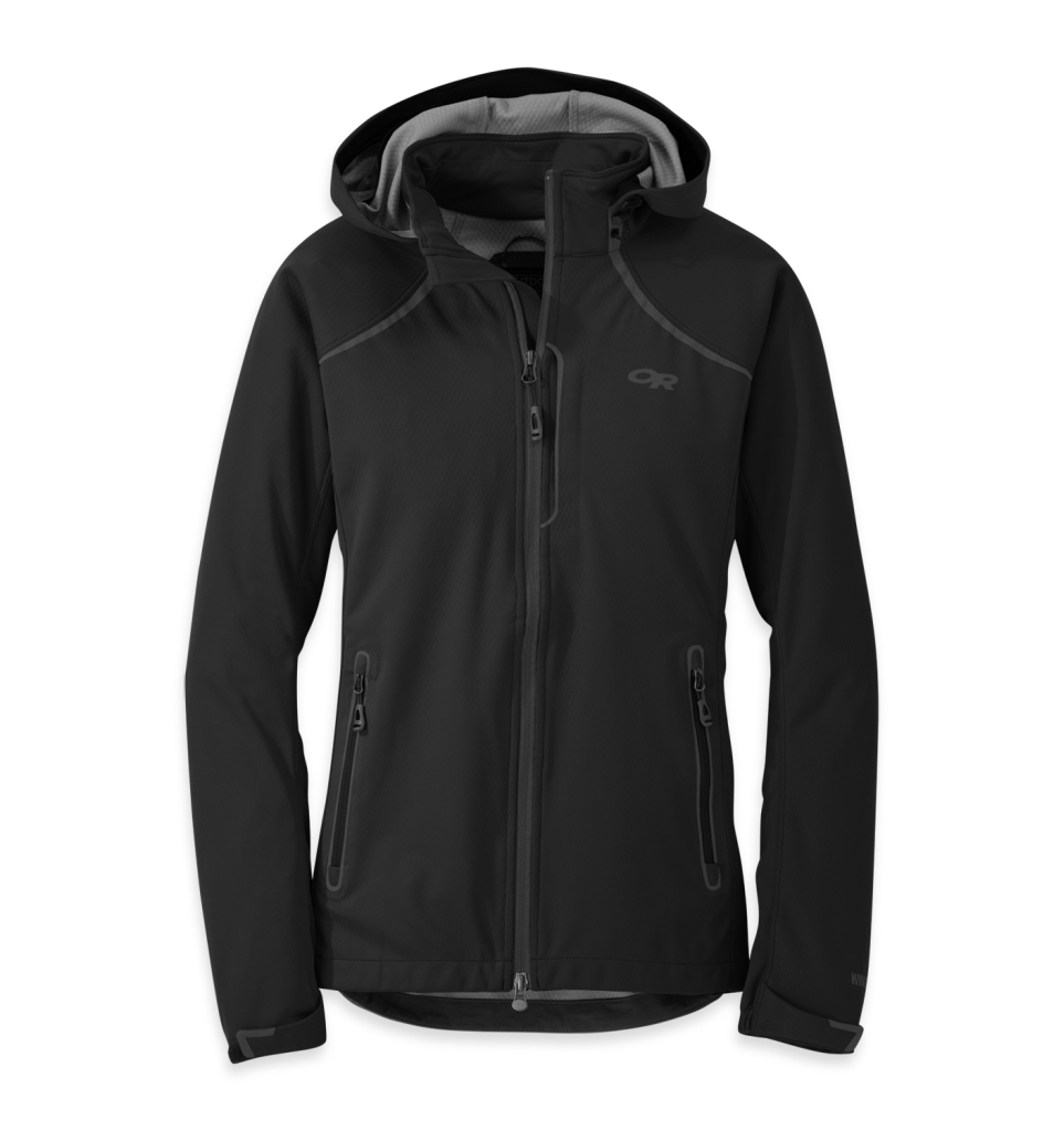 Outdoor Research Women's Linchpin Hooded Jacket Black-30