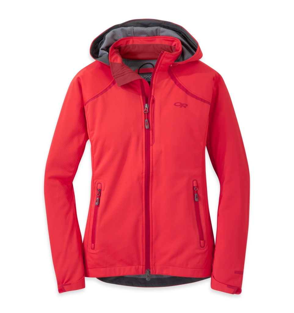 Outdoor Research Women's Linchpin Hooded Jacket Flame-30