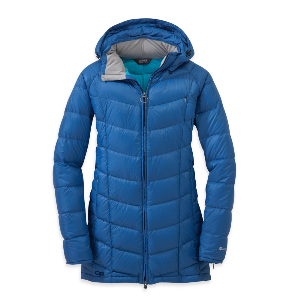 Outdoor Research Women's Sonata Parka Cornflower-30