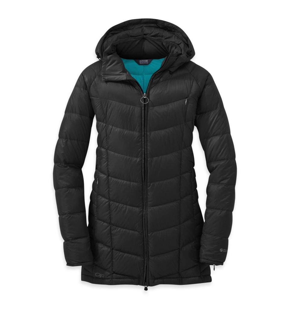 Outdoor Research Women's Sonata Parka Black/Rio-30