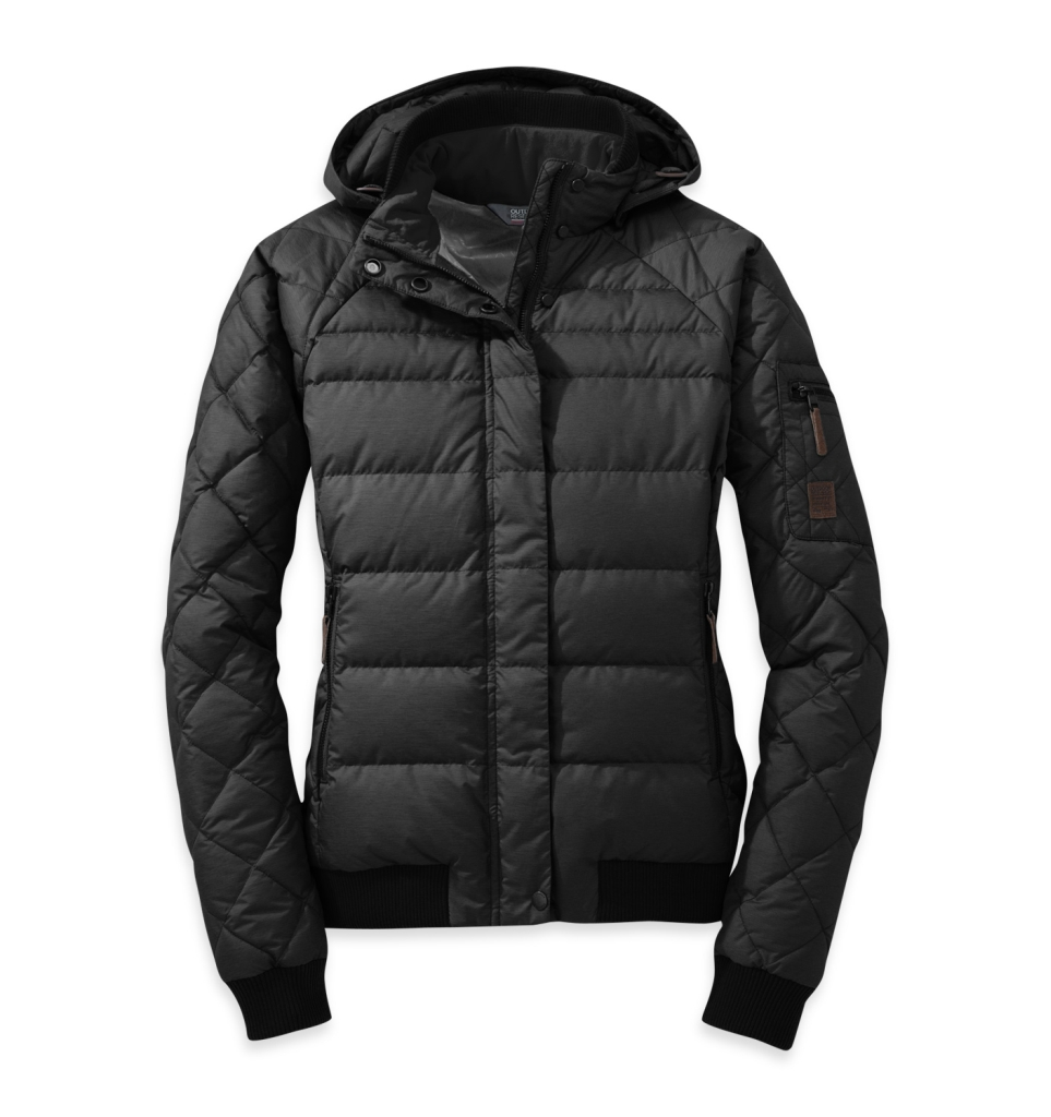 Outdoor Research Women's Placid Down Jacket Black-30