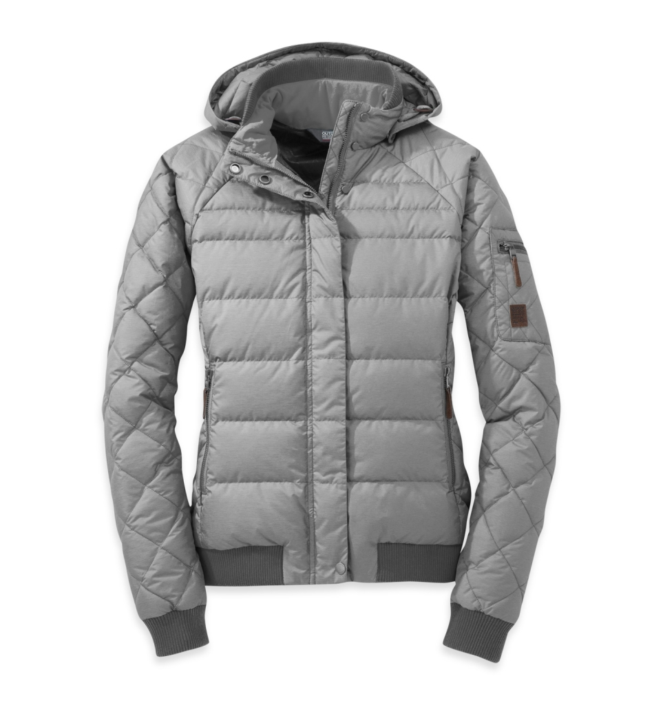 Outdoor Research Women's Placid Down Jacket Alloy-30