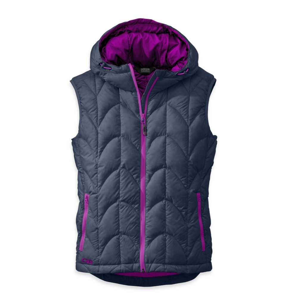Outdoor Research Women's Aria Vest Night/Ultraviolet-30