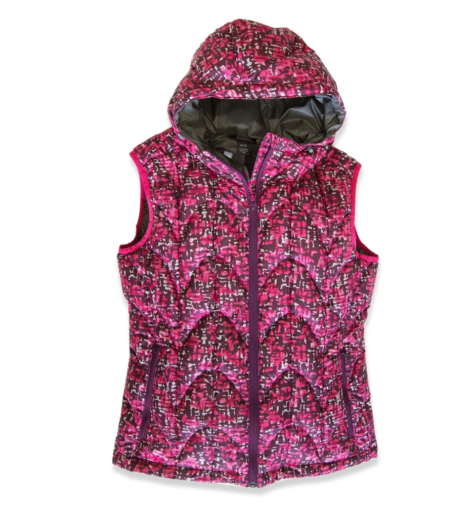 Outdoor Research Women's Aria Print Vest Sangria-30