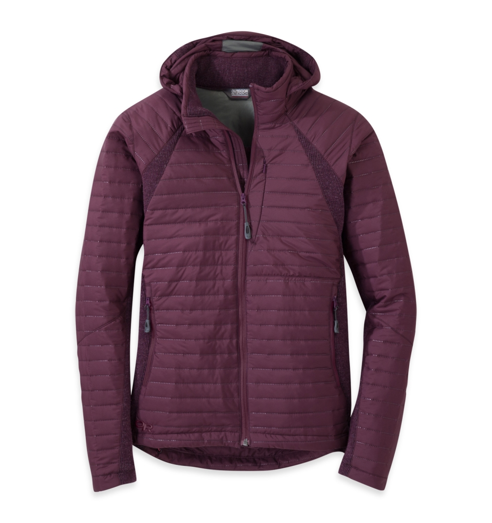 Outdoor Research Women's Vindo Hoody Pinot-30