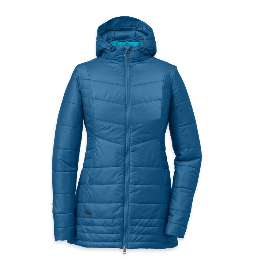Outdoor Research Women's Breva Parka Cornflow/Rio-30