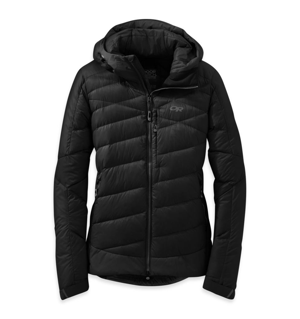 Outdoor Research Women's Diode Hooded Jacket Black-30