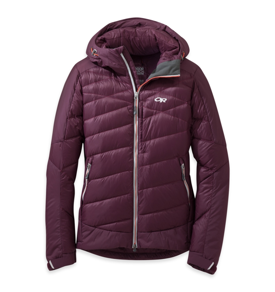Outdoor Research Women's Diode Hooded Jacket Pinot-30