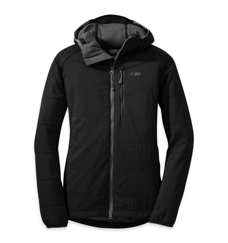 Outdoor Research Women's Uberlayer Hooded Jacket Black-30