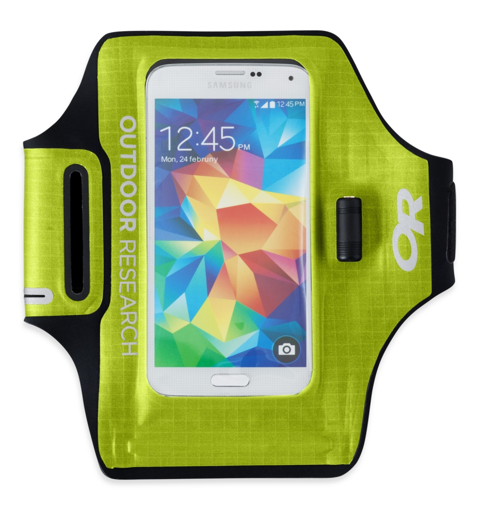 Outdoor Research SensDry Pocket Armband lemongrass-30