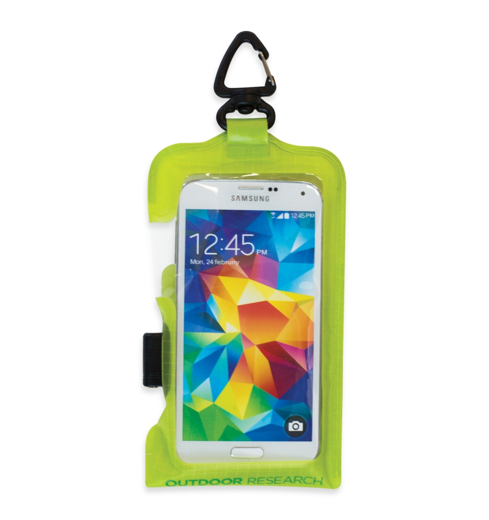 Outdoor Research SensDry Pocket PRM Smartph. Std lemongrass-30