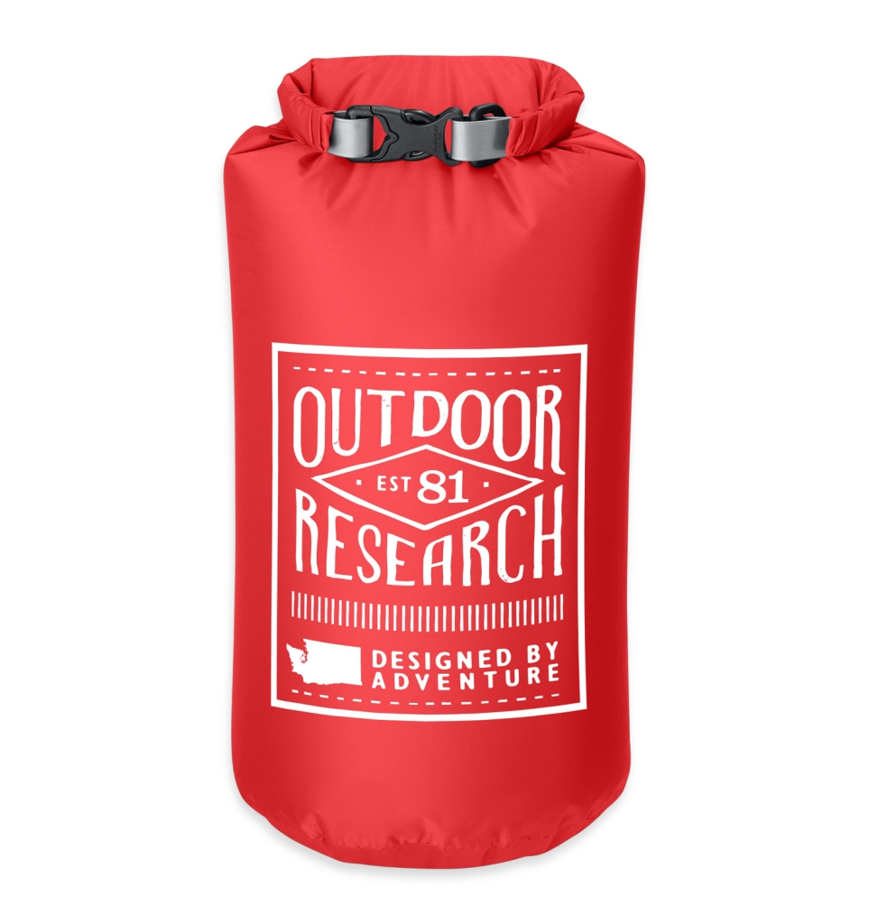 Outdoor Research Retro Dry Sack 5L hot sauce-30