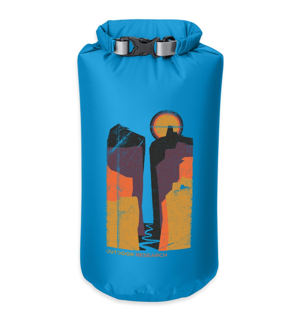 Outdoor Research Canyonlands Dry Sack 10L tahoe-30